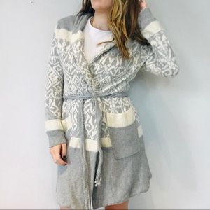 Anthro e by Eloise Gray pattern thick cardigan
